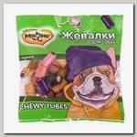 Лакомство для собак Мнямс Жевалки Chewy Tubes с курицей