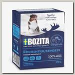 Консервы для собак Bozita Naturals Reindeer, Кусочки в желе оленем