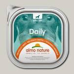 Консервы для собак Almo Nature Daily Menu паштет с телятиной и овощами (ламистер)