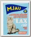 Консервы для кошек, Mjau Мясные кусочки в соусе с лососем