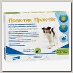 Капли на холку для собак 4,5-11 кг Elanco Prac-tic Прак-тик (3 пипетки)