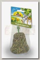 Лакомство для грызунов JR Farm Колокольчик из сена с Одуванчиком 1шт