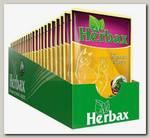 Herbax для кошек курочка в соусе с морской капустой, пауч