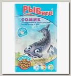 Универсальный корм для донных рыб Зоомир РЫБята Сомик гранулы, коробка и сюрприз