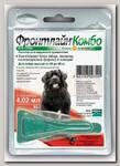 Капли для собак от 40 до 60 кг Frontline Merial Combo от блох и клещей, 4,02 мл