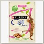 Консервы для взрослых кошек Cat Chow Adult с ягненком и зеленой фасолью в желе (пауч)