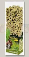 Лакомство для грызунов JR Farm Grainless беззерновое, Гороховые колечки