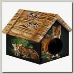 Дом для животных PerseiLine, Бенгальский кот