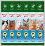 Лакомства для кошек B&b Allegro Cat рыбные колбаски из Лосося и Форели 6шт