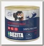 Консервы для собак Bozita Beef мясной паштет со вкусом говядины