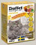 Консервы для кошек BUFFET Tetra Pak кусочки в желе с куриной печенью