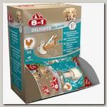 Лакомство для собак 8in1 Dental Delights Косточки с куриным мясом с минералами