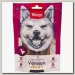 Лакомство для собак Wanpy Dog филе из оленины