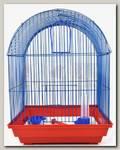 Клетка для птиц Зоомарк большая полукруглая комплект 35*28*52 см