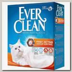 Наполнитель для кошачьего туалета Ever Clean Fast Acting комкующийся, мгновенный контроль запахов