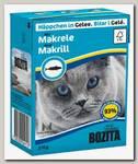 Консервы для кошек Bozita Feline MakerelTetra Pak Кусочки в желе со скумбрией