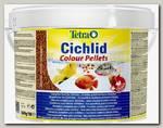 Корм для всех видов цихлид TetraCichlid Colour для улучшения окраса