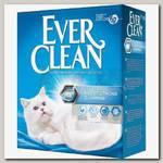 Наполнитель для кошачьего туалета Ever Clean Extra Strong Clumping Unscented комкующийся без ароматизатора (голубая полоса)
