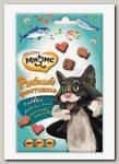 Лакомство для кошек Мнямс Рыбный фестиваль лосось, креветки, форель