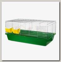 Клетка для кроликов INTER-ZOO RABBIT 100 ZINC FOLDING, складной борт 102*52*39,5 см