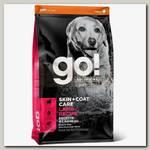 Сухой корм для щенков и собак Go! Solutions Skin + Coat Care Lamb Recipe DF со свежим ягненком