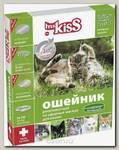 Ms.Kiss Ошейник для кошек репеллентный 38 см., зеленый