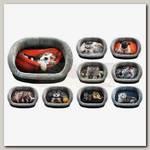 Лежанка для животных PerseiLine, Дизайн №3 С кошкой/ с собакой