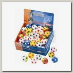 Игрушка для кошек Мяч Футбольный Nobby дисплей 48 шт