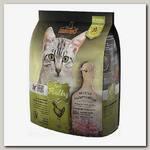 Беззерновой корм для кошек Leonardo Adult Poultry GF, со вкусом птицы