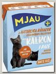 Консервы для кошек, Mjau Мясной паштет с индейкой