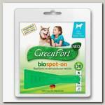 БиоКапли для собак более 25 кг GreenFort NEO, 2,5 мл