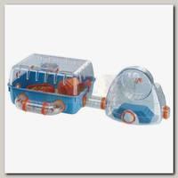 Клетка для хомяков Ferplast Combi 2 с мини-спортзалом