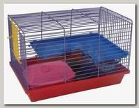 Клетка для грызунов Зоомарк 2-х этажная комплект 36*24*27 см