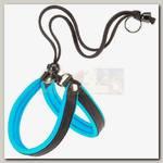 Шлейка для собак Ferplast Agila Fluo 3, синяя, 42 - 50 см