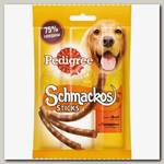 Лакомство для взрослых собак PEDIGREE Schmackos мясные палочки из говядины