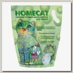 Наполнитель для кошачьего туалета Homecat Яблоко, силикагелевый с ароматом яблока