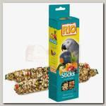 Палочки для попугаев Rio с фруктами и ягодами