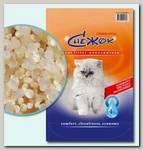 Наполнитель для кошачьего туалета Снежок силикагель