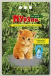 Наполнитель для кошачьего туалета Мурзик Лесной древесный (зеленый)