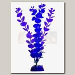 Растение для аквариума GloFish L с GLO-эффектом, Синее