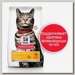 Сухой корм Hill's Science Plan Urinary Health для взрослых кошек, склонных к мочекаменной болезни, с курицей