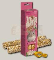 Палочки для хомяков, крыс, мышей и песчанок Little One с воздушным рисом и орехами
