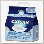 Наполнитель для кошачьего туалета Catsan гигиенический, впитывающий