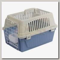 Переноска для кошек и собак Ferplast ATLAS 10 OPEN (с ковриком и поилкой)
