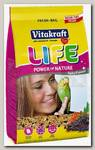 Корм для волнистых попугаев Vitakraft Life Power Nature
