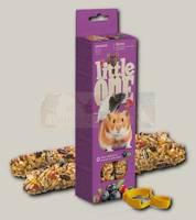 Палочки для хомяков, крыс, мышей и песчанок Little One с ягодами