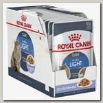 Royal Canin Ultra Light Jelly для кошек склонных к полноте, кусочки в желе (пауч)