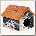 Дом для животных PerseiLine, Дизайн Кошка с газетой