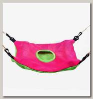 Гамак для хорьков OSSO Fashion из флиса большой с карманом