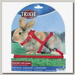 Шлейка для кроликов Trixie с поводком